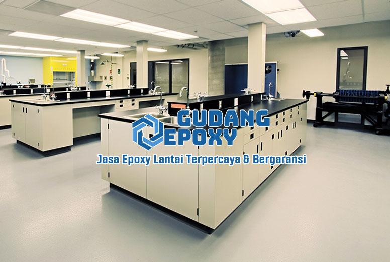 Epoxy Lantai laboratorium - Gudang Epoxy