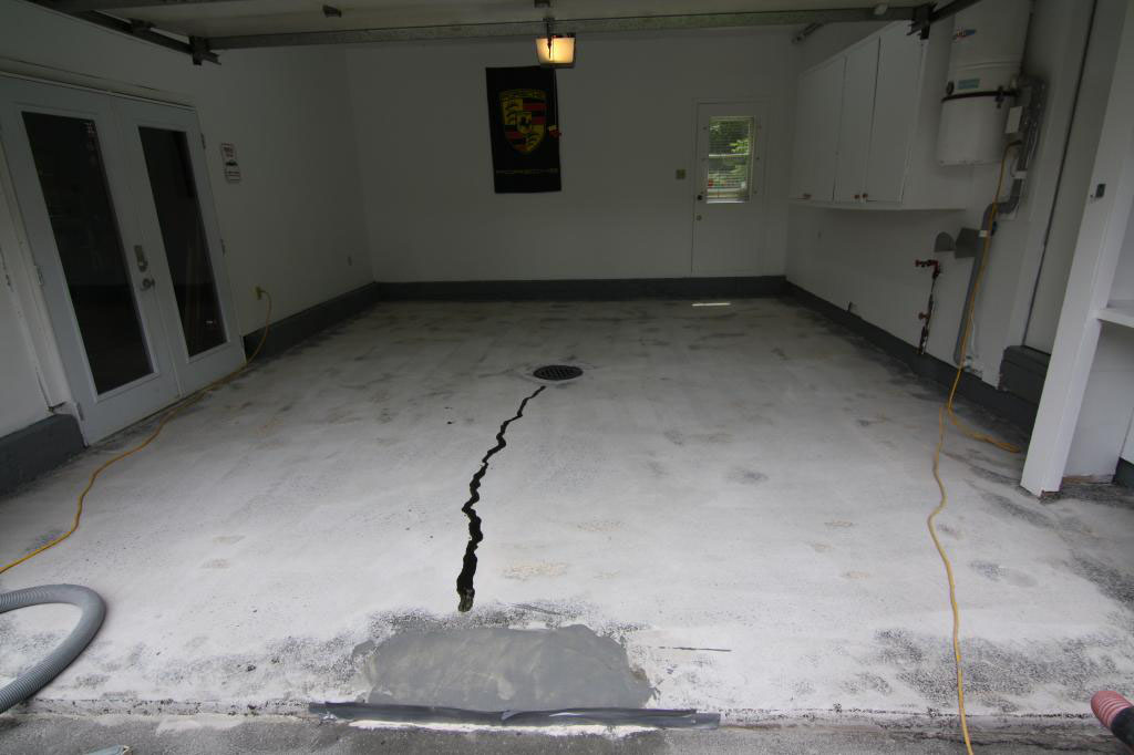 Kondisi Lantai yang akan di epoxy