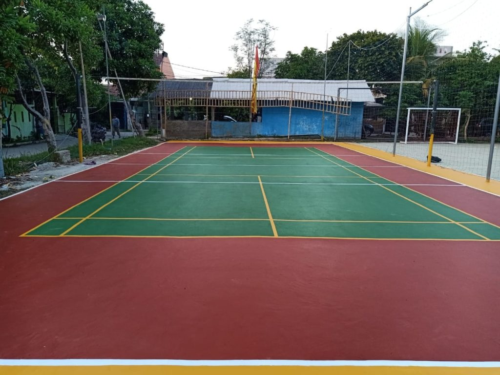 Cat Lapangan Olahraga