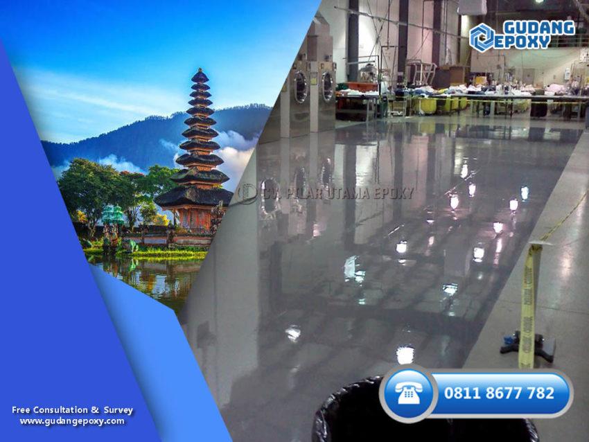 Jasa Epoxy Lantai Bali Terpercaya